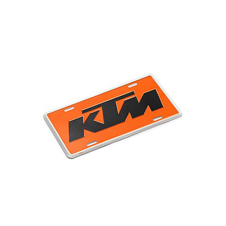 KTM Powerwear License Plate - Main
