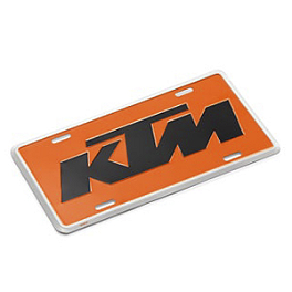 KTM Powerwear License Plate - KTM Powerwear Lanyard