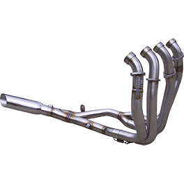 VooDoo Industries 4-into-1 Full System Exhaust - Natural / Polished - Yana Shiki Diamond Top Tree