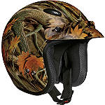 Vega X-280 Helmet - Forest Camo - Motorcycle Open Face