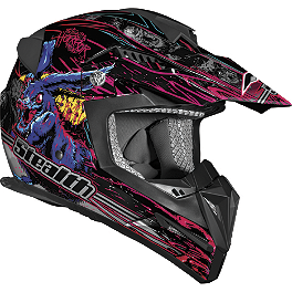 Vega Flyte Helmet - Horror Graphic - Vega Flyte Helmet - Speed