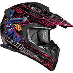 Vega Flyte Helmet - Horror Graphic - Dirt Bike Off Road Helmets
