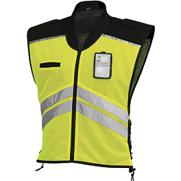 Vega Mesh Safety Vest - REV'IT! Hi-Viz Connector Vest