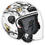 Vega Phantom Helmet - Butterfly -  Dirt Bike Flip Up Modular Helmets