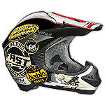 Vega Viper Helmet - Old Skool - Dirt Bike Off Road Helmets