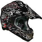 Vega Viper Helmet - SkullnBonz - Vega Dirt Bike Products