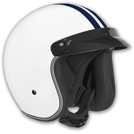 Vega X-380 Helmet - Striped - Xpeed XF312 Helmet
