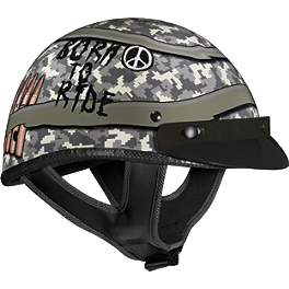 Vega XTA Helmet - Born To Ride - Speed & Strength SS500 Helmet - Hard Knock Life
