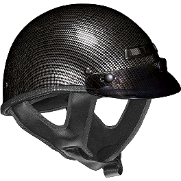 Vega XTS Helmet - Carbon Fiber Graphic - Vega XTS Helmet - Leather