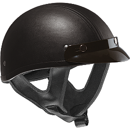 Vega XTS Helmet - Leather - Vega XTS Helmet - Carbon Fiber Graphic