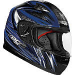 Vega Youth Mach 2.0 Jr. Helmet - Razor - Full Face Dirt Bike Helmets
