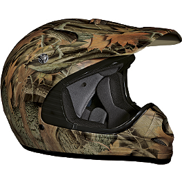 Vega Youth Mojave Helmet - Forest Camo - 2012 Answer Youth Jsc Seven Gloves