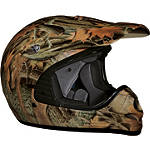 Vega Youth Mojave Helmet - Forest Camo - Vega Utility ATV Off Road Helmets