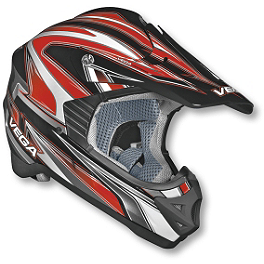 Vega Youth Viper Jr Helmet - Edge - Hardline Universal Training Wheels