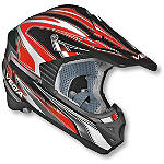 Vega Youth Viper Jr Helmet - Edge - Vega Dirt Bike Riding Gear