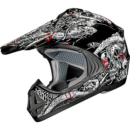 Vega Youth Viper Helmet - No Guts No Glory - Main