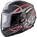 Vemar Eclipse Helmet - Tribal Flame - VEMAR-ECLIPSE-CARBON-FIBER-HELMET Vemar Carbon Motorcycle