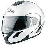 Vemar Jiano Evo TC Modular Helmet - Vemar Cruiser Helmets and Accessories
