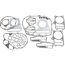 Vesrah Racing Complete Gasket Kit - 1981 Honda CM400C - Custom Saddlemen Saddle Skins Seat Cover - Black
