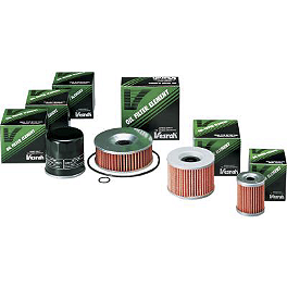 Vesrah Racing Oil Filter - 1997 Honda Shadow VLX Deluxe - VT600CD Vesrah Racing Semi-Metallic Brake Shoes - Rear