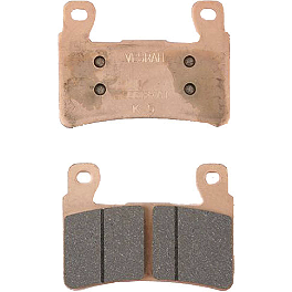 Vesrah Racing RJL High Performance Racing Pads - Front - 2002 Honda CBR600F4I Vesrah Racing Sintered Metal Brake Pad - Rear
