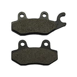Vesrah Racing Semi-Metallic Brake Pads - Front - 1986 Honda Rebel 250 - CMX250C Saddlemen Saddle Skins 2-Piece Seat Cover - Black