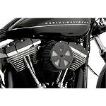 Vance & Hines Naked VO2 Skullcap Crown Air Cleaner Insert - Cruiser Air Filters, Cleaners & Fuel Filters