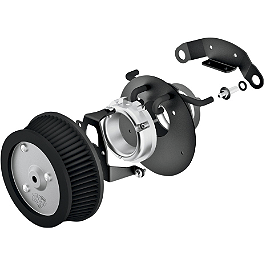 Vance & Hines Naked VO2 Air Intake - 2007 Harley Davidson Sportster Low 883 - XL883L Vance & Hines Exhaust Port Gasket Kit