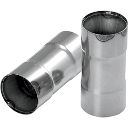 Vance & Hines Pro Pipe High-Output Exhaust Quiet Baffle - Samson Long Shortie Baffle For 2-1/4