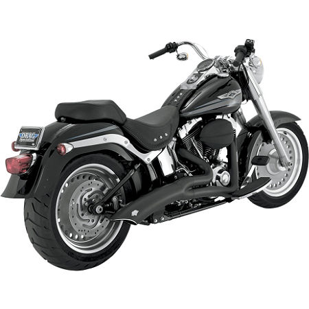 Vance & Hines Big Radius 2-Into-1 Exhaust - Black - Main