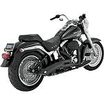 Vance & Hines Big Radius 2-Into-1 Exhaust - Black