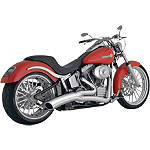 Vance & Hines Big Radius 2-Into-1 Exhaust - Chrome