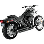 Vance & Hines Big Shots Staggered Exhaust - Black
