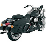 Vance & Hines Big Shots Duals Exhaust - Black