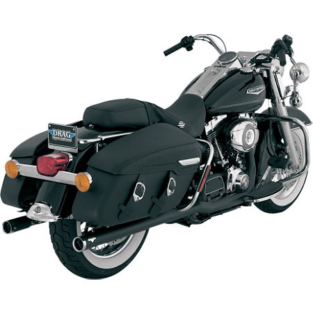 Vance & Hines Big Shots Duals Exhaust - Black - Main