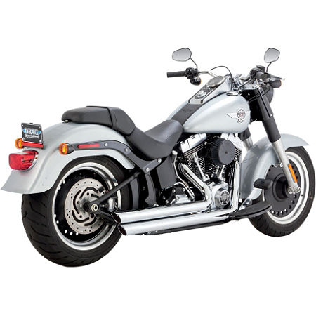 Vance & Hines Big Shots Long Exhaust - Chrome - Main