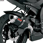 Vance & Hines CS One Slip-On Single Exhaust - Black - Vance and Hines Motorcycle Slip Ons
