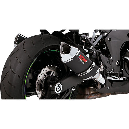 Vance & Hines CS One Slip-On Exhaust - Black - Main