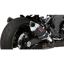 Vance & Hines CS One Slip-On Exhaust - Black - 2010 Kawasaki ZR1000 - Z1000 Vance & Hines CS One Slip-On Exhaust - Black