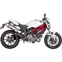 Vance & Hines CS One Slip-On Exhaust - Stainless Steel - 2011 Ducati Monster 796 Vance & Hines CS One Slip-On Exhaust - Black