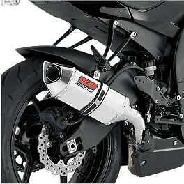 Vance & Hines CS One Slip-On Exhaust - Stainless Steel - 2008 Suzuki SV650SF ABS Vance & Hines CS One Slip-On Exhaust - Black