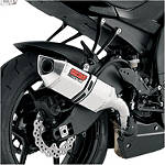 Vance & Hines CS One Slip-On Exhaust - Stainless Steel - VANCE-HINES-CS-ONE-SLIPON--STAINLESS Cruiser Exhaust