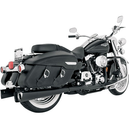 Vance & Hines Competition Series Slip-On Exhaust - Black - Main