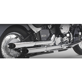 Vance & Hines Cruzers Exhaust - Cobra Drag Pipe Exhaust