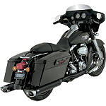 Vance & Hines Dresser Duals Headpipe System - Black - Vance and Hines Cruiser Exhaust