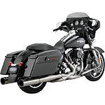 Vance & Hines Hi-Output Duals Exhaust - Stainless Steel - Vance and Hines Cruiser Products