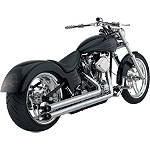 Vance & Hines Longshots HS Exhaust - Chrome - Vance and Hines Cruiser Full Systems