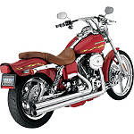 Vance & Hines Longshots Exhaust - Chrome - Cruiser Products