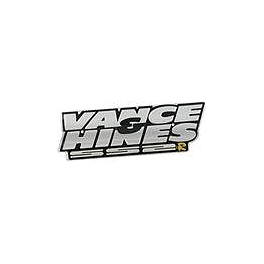 Vance & Hines SS2-R Exhaust Nameplate With Rivets - Vance & Hines Supersport Exhaust Nameplate With Rivets