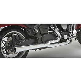 Vance & Hines Pro Pipe HS 2-Into-1 Exhaust - 2003 Yamaha Road Star 1700 Warrior - XV1700P Vance & Hines Fuel Pak